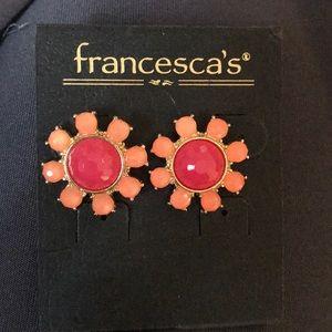 Francesca's Flower Stud Earrings